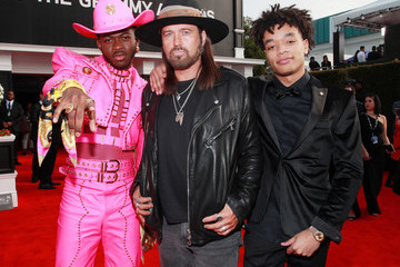 Billy Ray Cyrus Montero Lamar Hill 62nd Annual GRAMMY Awards – Red Carpet