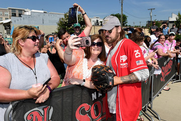 Billy Ray Cyrus City of Hope Celebrity Softball Game - Arrivals