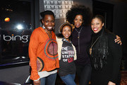 (L-R) Adepero Oduye, Aasha Davis, Kim Wayans and Pernell Walker attend the Bing Bar on January 22, 2011 in Park City, Utah.