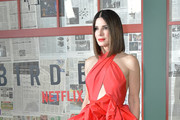 """Actress Sandra Bullock attends the New York screening of """"Bird Box"""" at Alice Tully Hall, Lincoln Center on December 17, 2018 in New York City."""