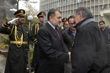 Bismillah Khan Mohammadi U.S. Defense Secretary Panetta Makes Unannounced Visit to Afghanistan