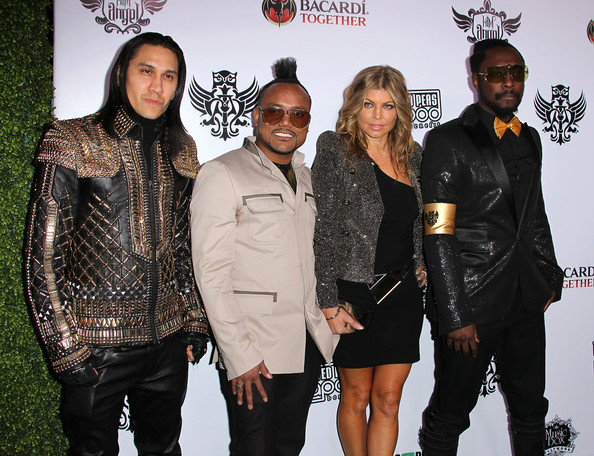 The Black Eyed Peas attend The Black Eyed Peas' seventh annual Peapod benefit concert at The Music Box on February 10, 2011 in Hollywood, California.
