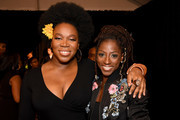 India Arie and Rutina Wesley attend Black Girls Rock! 2017 at NJPAC on August 5, 2017 in Newark, New Jersey.