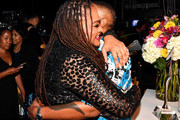 Ava DuVernay and  Lena Waithe pose backstage during Black Girls Rock! 2018 at NJPAC on August 26, 2018 in Newark, New Jersey.