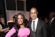 Niecy Nash and Jesse Collins attend Black Girls Rock 2019 Hosted By Niecy Nash at NJPAC on August 25, 2019 in Newark, New Jersey.