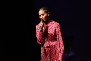 Kelly McCreary speaks at The Black Rebirth 1st Annual Fundraiser at Nate Holden Performing Arts Center on January 18, 2020 in Los Angeles, California.  (Photo by Vivien Killilea/Getty Images for The Black Rebirth Collective (BRC))