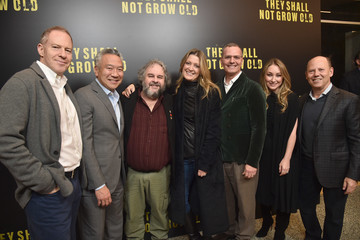 Blair Rich Warner Bros. Premiere Of 'They Shall Not Grow Old' - Arrivals