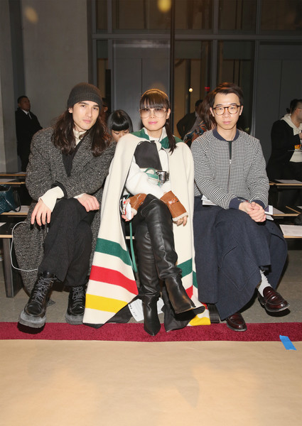 Calvin Luo - Front Row - February 2018 - New York Fashion Week