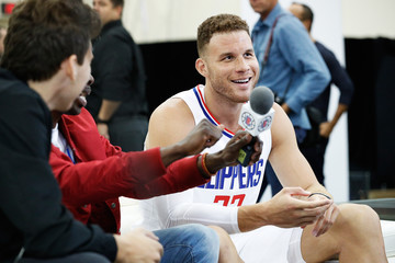 Blake Griffin Los Angeles Clippers Media Day