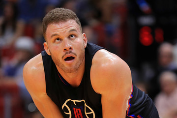 Blake Griffin Los Angeles Clippers v Miami Heat