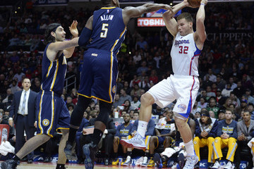 Blake Griffin Indiana Pacers v Los Angeles Clippers