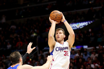 Blake Griffin New York Knicks v Los Angeles Clippers