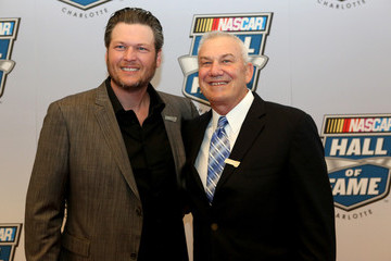 Blake Shelton NASCAR Hall of Fame Induction