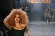 Lion Babe walks the runway for the The Blonds fashion show during New York Fashion Week: The Shows at Gallery I at Spring Studios on February 12, 2019 in New York City.