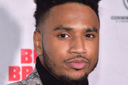 "Trey Songz attends the ""Blood Brother"" New York Screening at Regal Battery Park 11 on November 29, 2018 in New York City."