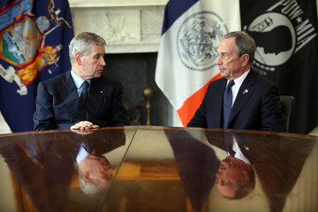 Giovanni Castellaneta Bloomberg Briefs Italian Ambassador To U.S. On Crash Recovery Efforts