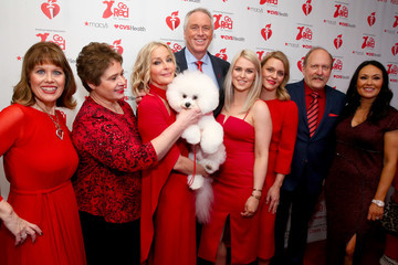 Bo Derek The American Heart Association's Go Red For Women Red Dress Collection 2019 - Backstage