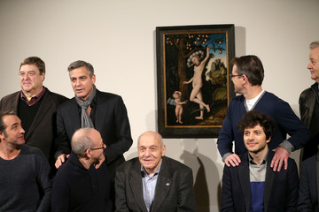 "Bob Balaban Jean Dujardin ""The Monuments Men"" - Photocall"