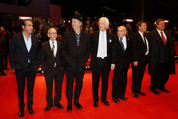Bob Balaban Jean Dujardin 'The Monuments Men' Premiere - 64th Berlinale International Film Festival