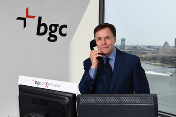 Bob Costas Annual Charity Day Hosted By Cantor Fitzgerald, BGC and GFI - BGC Office - Inside