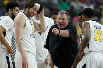 Bob Huggins NCAA Basketball Tournament - Second Round - Buffalo