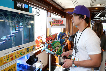 Bob Morley The Nintendo Lounge on the TV Guide Magazine Yacht - Day 2 - Comic-Con International 2015
