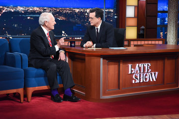 """Bob Schieffer CBS's """"The Late Show with Stephen Colbert"""" - Season Two"""