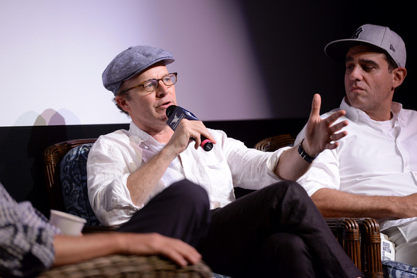2017 Nantucket Film Festival - Day 2 [event,performance,conversation,sitting,music,shoes,tom mccarthy bobby cannavale,actors,tom mccarthy,nantucket,massachusetts,nantucket film festival]