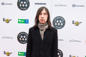 Bobby Gillespie Music Walk Of Fame Founding Stone Unveiling
