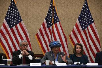 Bobby Scott House Democratic Leader Nancy Pelosi, Reps. Scott and Adams Hold Roundtable With Presidents of Historically Black Colleges