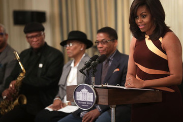 Bobby Watson First Lady Michelle Obama Welcomes High School Students for History of Jazz Student Workshop