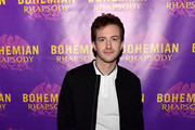 Actor Joseph Mazzello, who portrays John Deacon, walks the red carpet at the Boston red carpet screening of 'Bohemian Rhapsody,' the film about the rock band Queen and its lead singer Freddie Mercury, at AMC Boston Common on October 1, 2018 in Boston, Massachusetts.