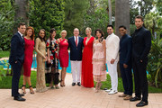 In this handout image provided by Le Palais Princier, (L-R) Darin Brooks,Courtney Hope,Reign Edwards,Heather Tom,Katherine Kelly Lang,Prince Albert II of Monaco,Princess Charlene of Monaco,Jacquelines MacInnes Wood,Don Diamont,Rome Flynn and Pierson Fode attend the 'The Bold and The Beautiful' 30th Years anniversary during the 57th Monte Carlo TV Festival : Day 3 on June 18, 2017 in Monte-Carlo, Monaco.