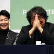 Bong Joon Ho 'Parasite' Cast And Crew Hold Press Conference In Seoul