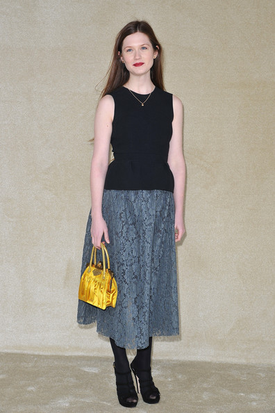 Bonnie Wright - Miu Miu: Arrivals - Paris Fashion Week Womenswear Fall/Winter 2012