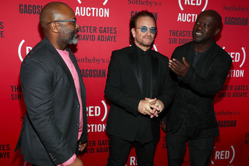 Bono The (RED) Auction Photocall