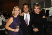 """(L-R) Margaret Hoover, John Avalon, and Ashleigh Banfield, CNN anchor attend Book Launch For Jeffrey Toobin's """"The Oath"""" at Time Warner Center on September 12, 2012 in New York City."""
