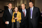 """Andrew Heyward, journalist Priscilla Painton, journalists Michael Duffy and journalist Charlie Rose attend the Book Signing party for TIME's Nancy Gibbs And Michael Duffy's book, """"The Preidents Club"""" at the New York Public Libaray on May 2, 2012 in New York City."""