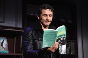 Actor James Franco does a reading onstage during 'An Evening with the Cast of HBO's The Deuce' to benefit Housing Works at Housing Works Bookstore Cafe on June 23, 2019 in New York City.