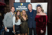 "Boomer Esiason attends the Boomer Esiason Foundation's Annual ""Refi Rock"" at Lavo on November 16, 2017 in New York City."