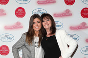 (L) Louise Michelle and (R) Vicki Michelle attend the Boots Staydry Women Take The P**s Comedy Night at Boulevard Theatre on February 25, 2020 in London, England. The event was held to challenge the taboo associated with female incontinence and encourage women to talk more openly about the condition.