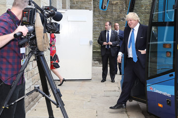 Boris Johnson The Conservative Party Launch Their Election Manifesto