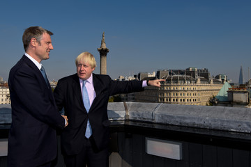 Boris Johnson Zac Goldsmith Is Announced as Conservative London Mayoral Candidate