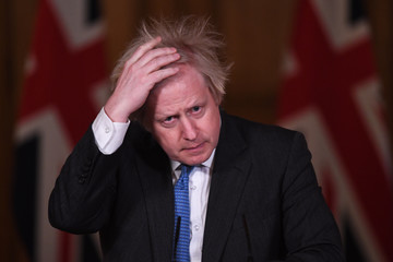 Boris Johnson European Best Pictures Of The Day - February 16