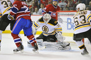 Tomas Plekanec and Tim Thomas Photos Photo