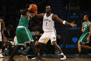 Kevin Garnett #2 of the Brooklyn Nets in action against the Boston Celtics during their game at the Barclays Center on December 10, 2013 in the Brooklyn borough of New York City. NOTE TO USER: User expressly acknowledges and agrees that, by downloading and or using this photograph, User is consenting to the terms and conditions of the Getty Images License Agreement.