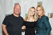 (L-R) Michael Chiklis, Catherine Rose Young and Cherly Hines attend Bowling For Buddies at PINZ Bowling & Entertainment Center on December 10, 2017 in Studio City, California.