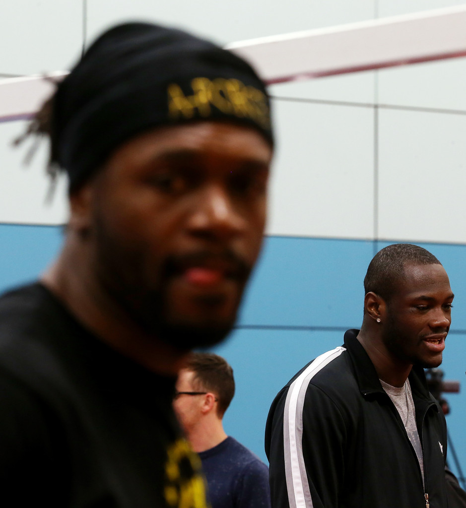 Deontay Wilder Photos Photos