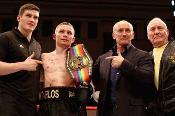 Barry McGuigan Carl Frampton Boxing at York Hall