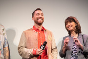 "Lance Bass and Diane Bass attend the ""The Boy Band Con: The Lou Pearlman Story"" Premiere - 2019 SXSW Conference and Festivals at Paramount Theatre on March 13, 2019 in Austin, Texas."